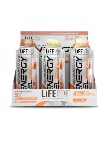 LIFE PRO ENDURANCE ENERGY GEL 18X60ML