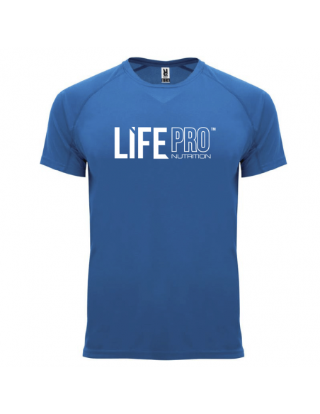 LIFE PRO CAMISETA TÉCNICA TRANSPIRABLE I CAN AND I WILL AZUL