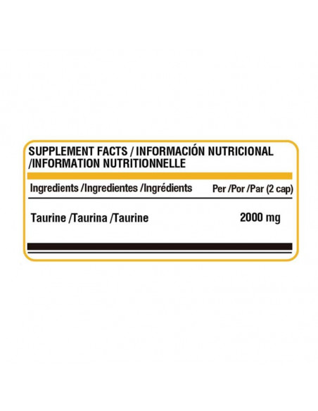 LIFE PRO TAURINE 1000MG 90 VCAPS
