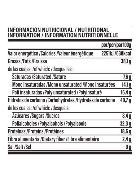LIFE PRO FIT FOOD PROTEIN CREAM SPECULOOS DARK CHOCOLATE 250G